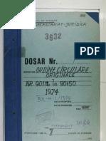 Ordinul M.I. nr. 496 din 10.09.1974