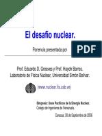 El Desafio Nuclear EGHB USB