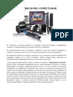 Perifericosdelcomputador Taller Sexto
