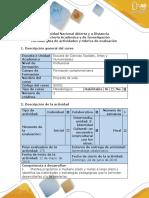 Guía de Actividades y Rúbrica de Evaluación-Fase 3-Identidad Cultural Un Encuentro