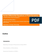 Partial Differential Equations of Fluid Dynamics