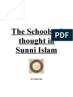 Schools of Thought in Sunni Islam by Wakas Mir