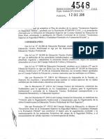 4548-16 CGE Aprueba Diseño Curricular -Tecnicatura Superior en Seguridad Pública y Ciudadana Orientada a La Formación Policial- (1) (1)