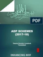 Brief ADP Schemes 2017-18 -(30-05-2018)