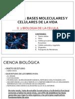2.2 Biología de La Celula