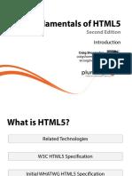 1 Html5 Fundamentals m1 2e Slides
