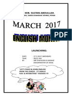 english month brochure