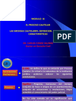 MODULO IX -Proceso Cautelar