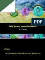 Principios y Procedimientos de Elearning