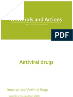 Antivirals and Mechanism of Action