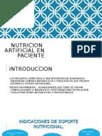 Nutricion artificial en pcte qx.odp