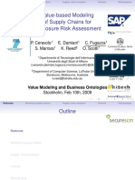Value-based Modeling Supply Chain