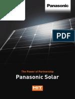 Panasonic Solar Brochure