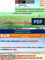 Riego_secas Intermitentes_Politica Publica Regional