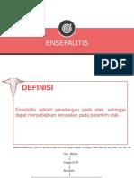 Responsi Ensefalitis Dan Malaria Serebral