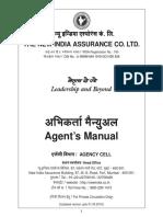 General Insurance Agent Manual