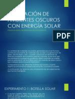 Iluminación de Ambientes Oscuros Con Energía Solar-ppt