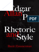Brett Zimmerman - Edgar Allan Poe_ Rhetoric and Style (2005, Mcgill Queens Univ Pr)