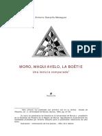 Campillo, A. - Moro, Maquiavelo, La Boétie. Una Lectura Comparada