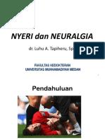 Pain - Neuralgia