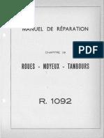 09 10 Roues Moyeux Tambours