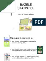 Bazele Statisticii C1 2018