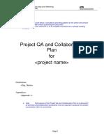 Project QA, Collab Plann