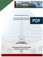 M. Putra Rizki-1701202010080- Tugas Manajemen Operasi MM Unsyiah 70B-Bisnis Proses Kpw BI Prov. Jatim