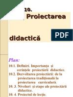 Tema 10. Proiectarea didactica (1).ppt