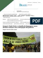 Mises Brasil - Gramsci, Paulo Freire e a Batalha Da Linguagem_ Nosso Declínio Começou Com a Deturpação Das Palavras