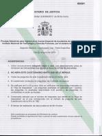 Toxicologia Ayudantes de laboratorio Especifico 2018