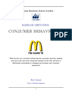 30231629 Consumer Behaviour