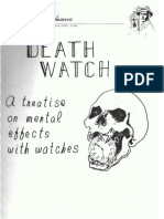 Al Mann - Death Watch