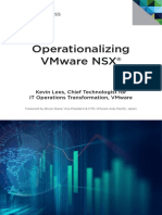 Vmware Operationalizing Nsx