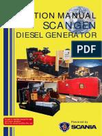 Operation Manual -Generator