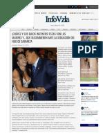 ¡Chávez y Sus Bajos Instintos! Estas Son Las Mujeres