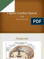 Liquor Cerebro Spinal