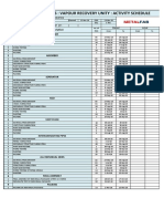 Mfjo770 Activity Schedule