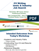 GECD Broad MIT Academic Industry CV Workshop 2015-09-21