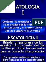 Curso Escatología I.ppt