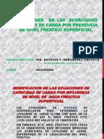 MODIFICACION DE LAS ECUACIONES DE CAPACIDAD DE CARGA.pptx