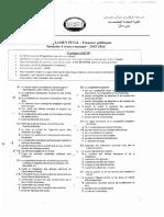 Examen Fincances Publiques 2016 Ord