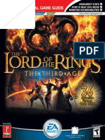 The Lord of the Rings the Third Age - Official Strategy Guide