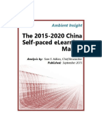 AmbientInsight 2013-2018 China Self-paced-eLearning Market Abstract