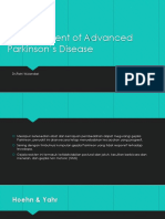 Management of Advanced Parkinson's Disease