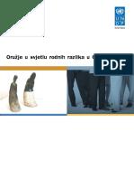 Oruzje u Svjetlu Rodnih Razlika u Crnoj Gori
