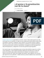 """""""En España el porno y la prostitución van de la mano"""" - Diario16"""