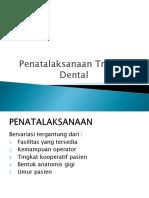 13. Dok Tatang Penatalaksanaan Trauma Dental)