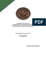 Programa Política Fiscal