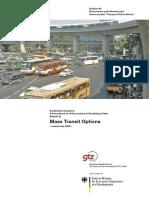 GIZ SUTP SB3a Mass-Transit-Options En